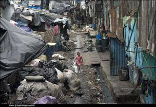 Bidonville de Dharavi (INDIA)