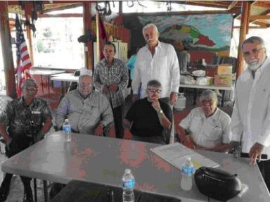 Armando Valladares,osé Dionisio Suárez. y Aldo Rosado-Tuero