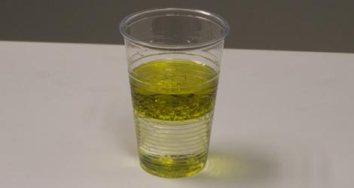 aceite y agua
