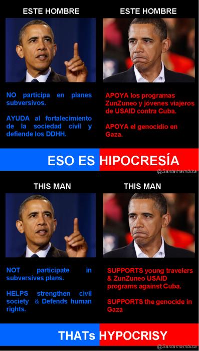 Obamas Hypocrisy
