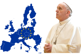 PAPA EN PARLAMENTO EUROPEO