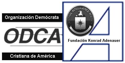 Subversão contra Cuba: Organização Democrata Cristã da América e da Fundação Konrad Adenauer