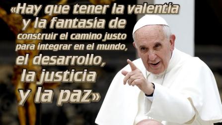 papa contra golpe en venezuela