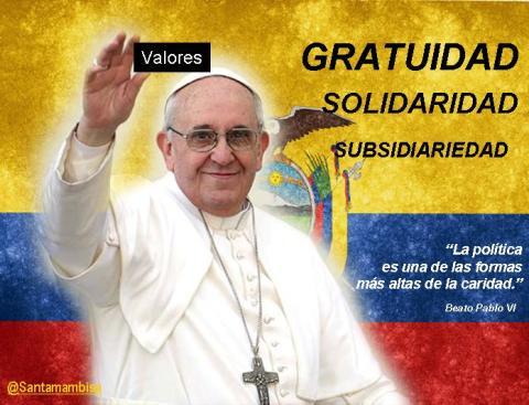 El Papa y  America Latina