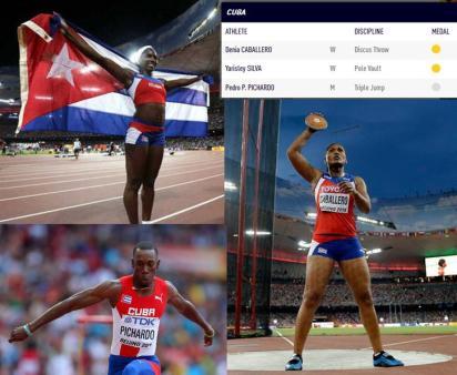 campiones cubanos en iaaf 2015