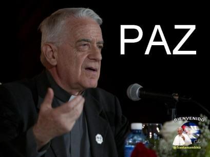 lombardi en conferencia de prensa durante la visita del papa a cuba