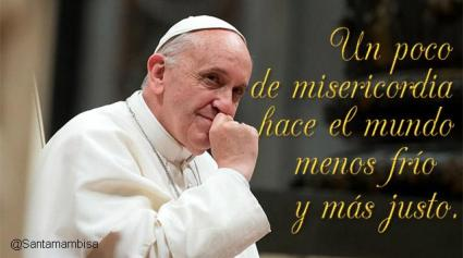 papa y misericordia