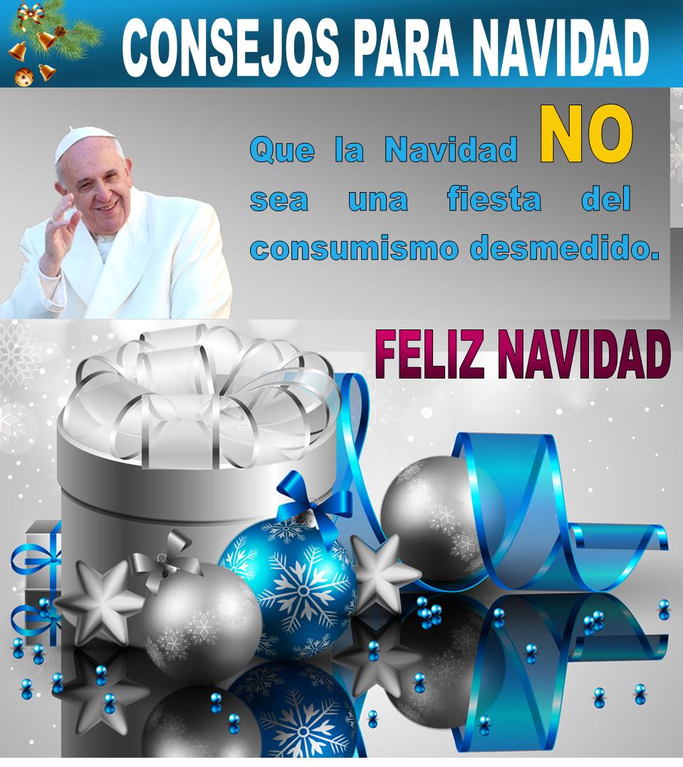 Mensajes de navidad por el papa