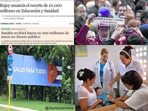DIFERENCIAS CUBA ESPAÑA