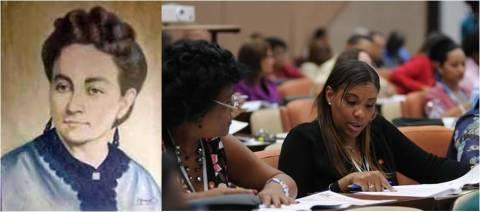 mujeres en Asamblea de Cuba