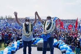 Contundente triunfo del MAS en Bolivia